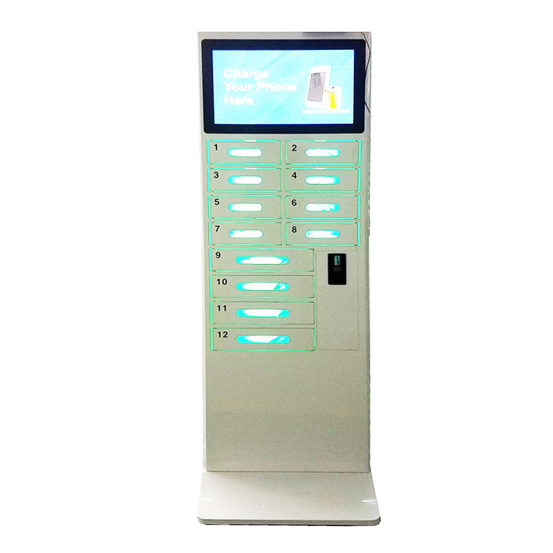 Android Network Cell Phone Charging Stations Lockers With International Socket