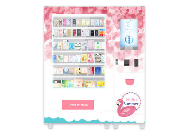 Automated Cosmetics Product Vending Machine, Smart Beauty Makeup Lipstick Cream Skin Care Product Vending Station supplier