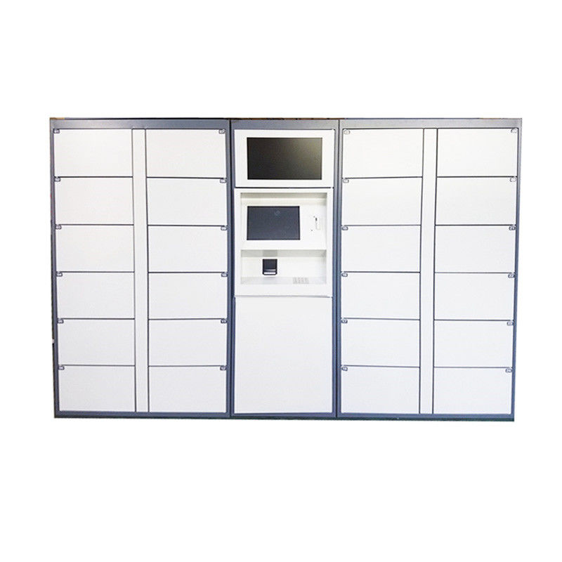 Airport Electronic Parcel Delivery Lockers For Delivery Service , 24 Hours Available