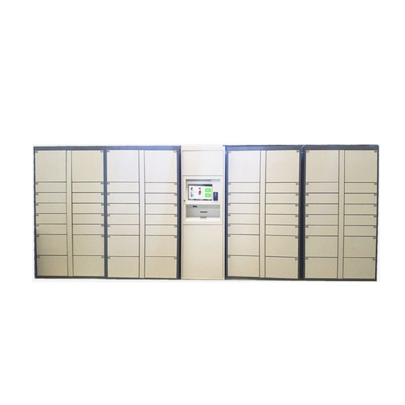 "Multi Functional Electronic Package Locker , Automated Parcel Lockers With 15"" Touch Screen"