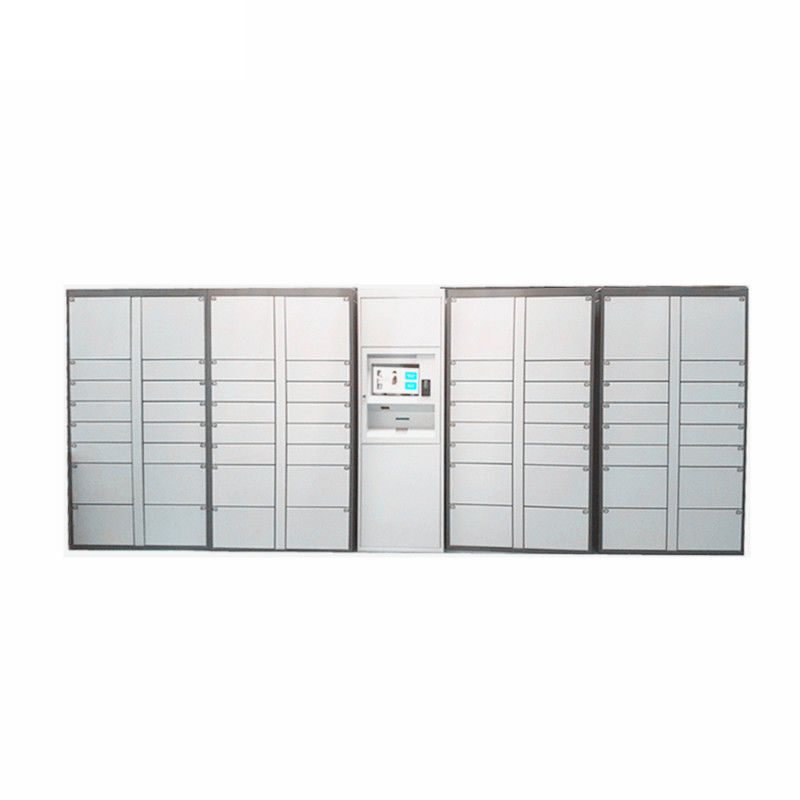 Coins Bills Operated Electronic Durable Metal Storage Doors Luggage Lockers Airport Rental Locker For Public supplier