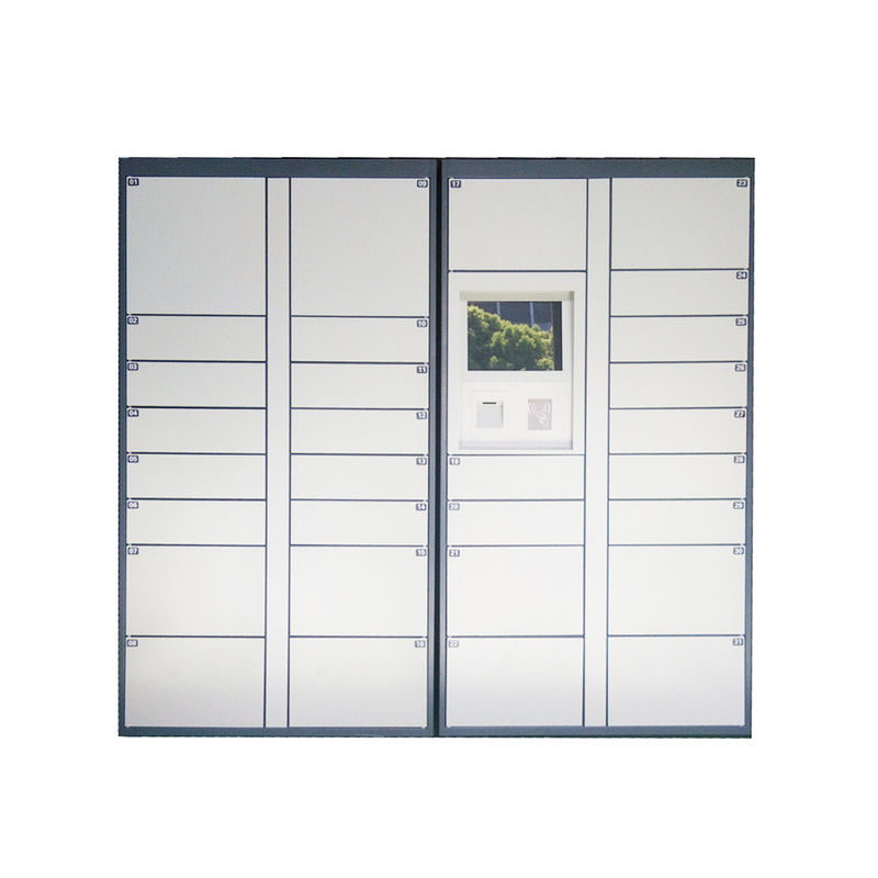 Electronic Mailbox Delivery Locker For Post Service , Automated Parcel Lockers supplier