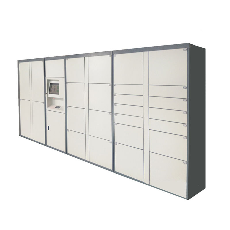 36 Cabinet Intelligent Mail Parcel Delivery Lockers , Delivery Parcel Security Box supplier