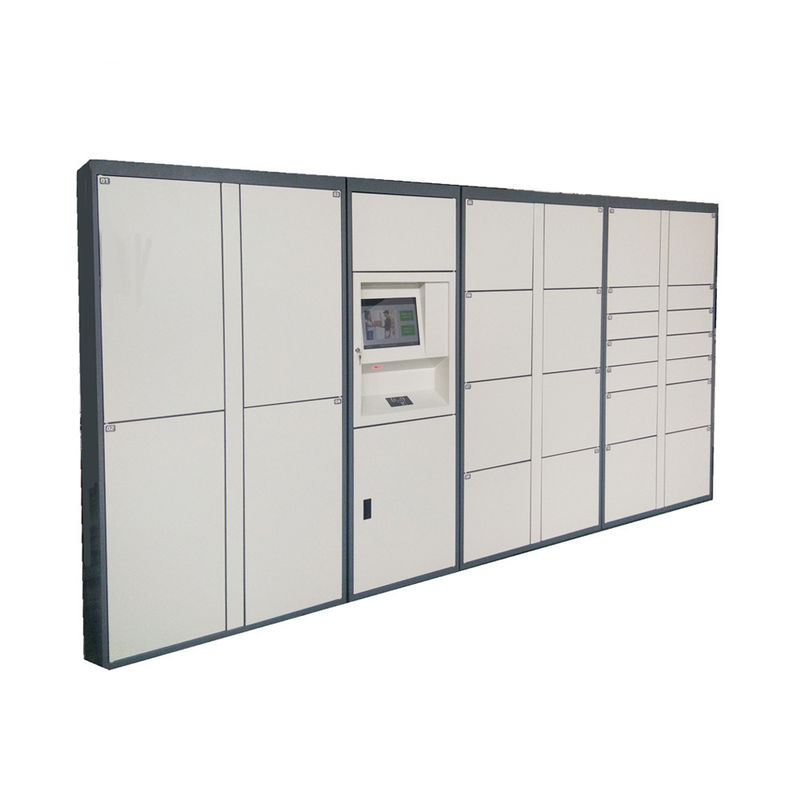 Durable Postal Cabinet Steel Parcel Locker Service With Different Sizes For Express Company