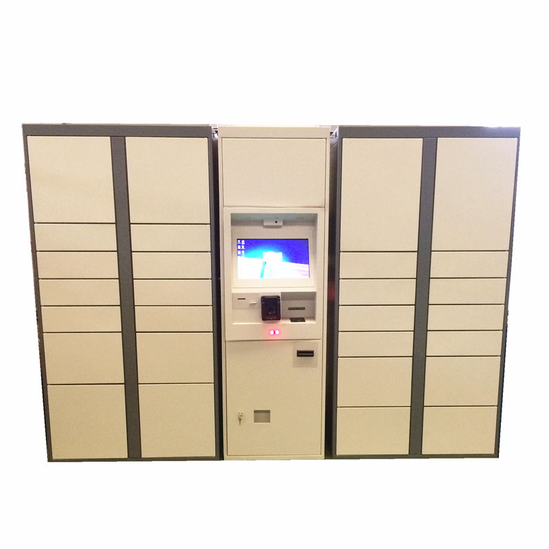Intelligent Logistics Parcel Delivery Lockers With Online Shopping Click & Collect Solution supplier