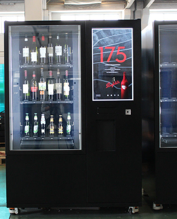 OEM/ODM intelligent beer red wine elevator vending machine in france