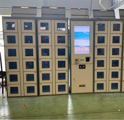 24/7 Intelligent Remote Control Electronic Vending Lockers High Performance Packed Eggs