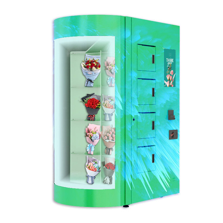Customized Lcd 19 Inch Fresh Flower Vending Locker with Large Display Winodw
