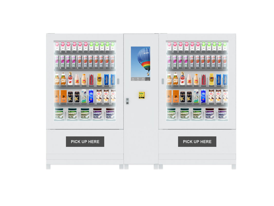 Large Mini Mart Vending Machine , Drink Snack Automatic Vending Machine