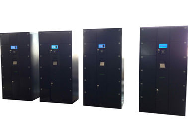 China Pin Code Setting Electronic Steel Luggage Storage Airport , Password High Tech Lockers distributor