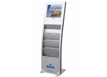 China Advertising Display LCD Digital Signage with Brochure Holder FCC / CE / RoHS distributor