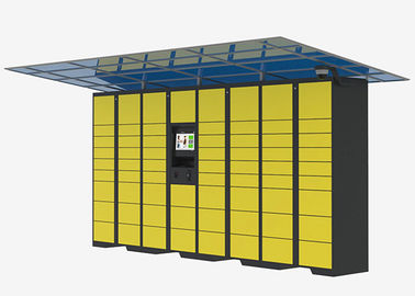 China Intelligent Locker Delivery Service Lockers , Network Remote Control Post Parcel Locker distributor