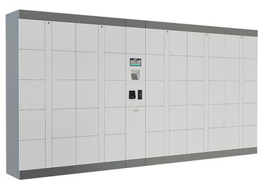 China Intelligent Parcel Delivery Lockers with Industrial PC , SMS Input Password Click and Collect Lockers distributor