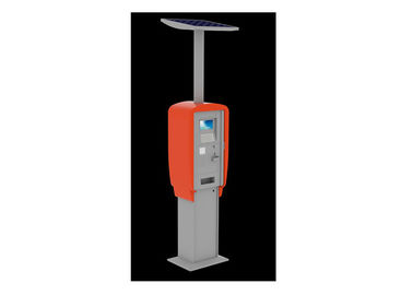 China Steel Cabinet Self Service Weather Proof Interactive Kiosk Solutions with 7 inch LCD distributor