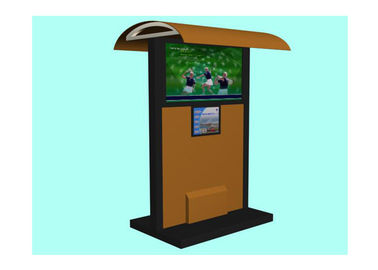 China Golf Park Plaza Outdoor Digital Signage , Shopping Mall Advertising Display Outdoor Electronic Signs distributor