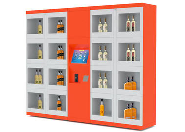 China 24/7 Intelligent Remote Control Electronic Locker System Retail Vending Machines distributor