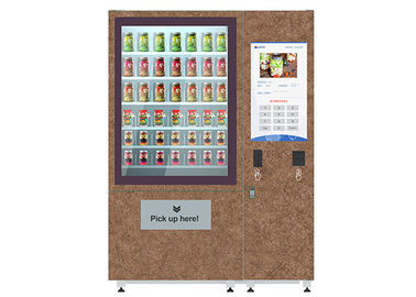 China CE FCC ISO approved salad vending machine with remote control function distributor