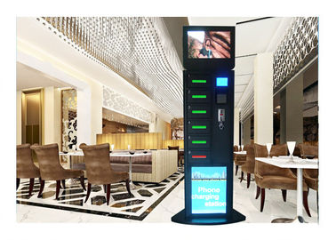 China Hotel Smartphone Charging Station , Wireless Charging Station For Multiple Devices distributor