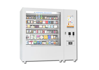 China Professional Large Capacity Mini Mart Vending Machine For School / Train Station distributor