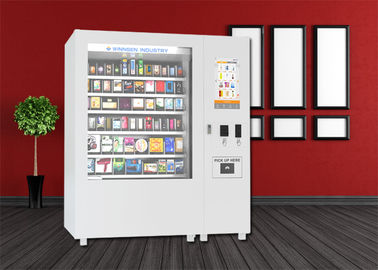 China Bus Station Mini Mart Vending Machine , Snack Vending Kiosk With Big Touch Screen distributor