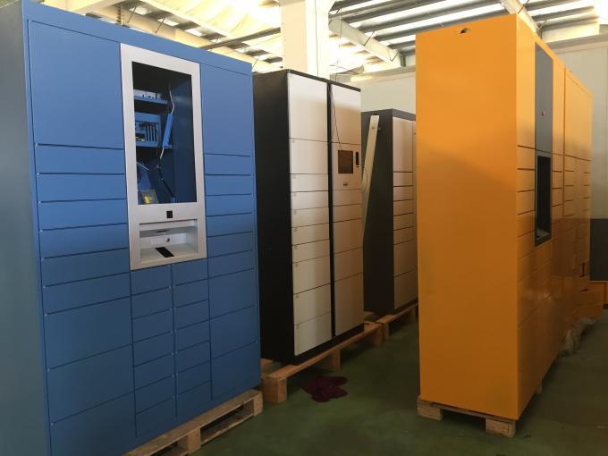 Self Service Luggage Lockers Electronic Locker Systems