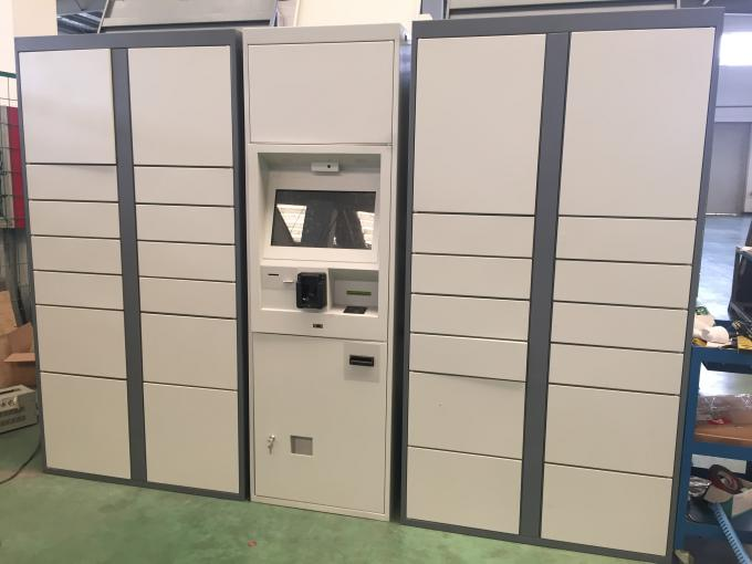 Electronic Laundry Locker With Multi Languages And Safe Scured Electronic Locks