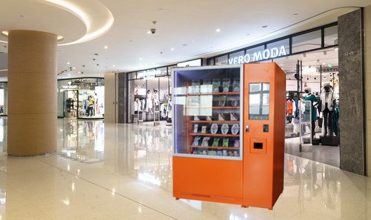 Fresh Fruit / Vegetables / Lunch Box Vending Machine With Elevator , FCC