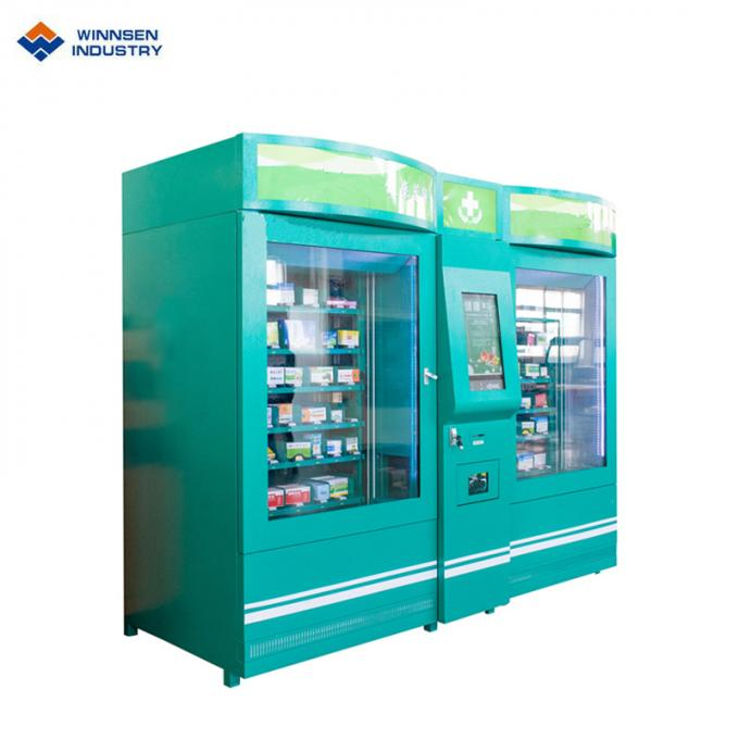 Medicine Automatic Vending Machine / Touch Screen Pharma Vending Machines