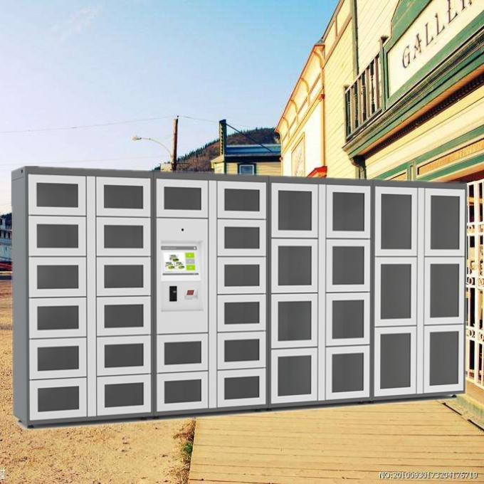 Automatic Vegetable Vending Lockers , Outdoor Locker Systems CE / FCC / ISO