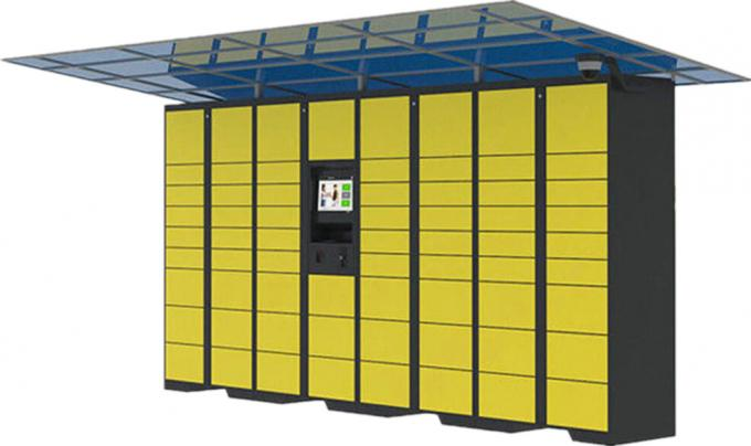 36 Cabinet Intelligent Mail Parcel Delivery Lockers , Delivery Parcel Security Box