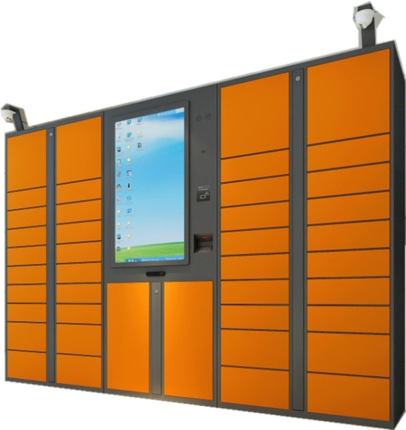 36 Intelligent Indoor Parcel Delivery Lockers , Electronic Express Locker
