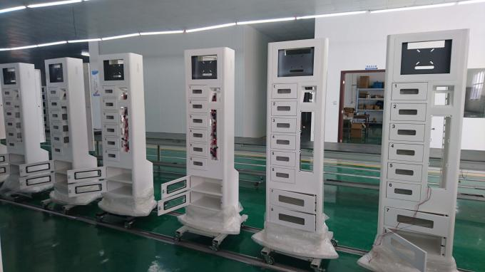 Airport Shopping Mall Cell Phone Charging Stations , Mobile Phone Locker