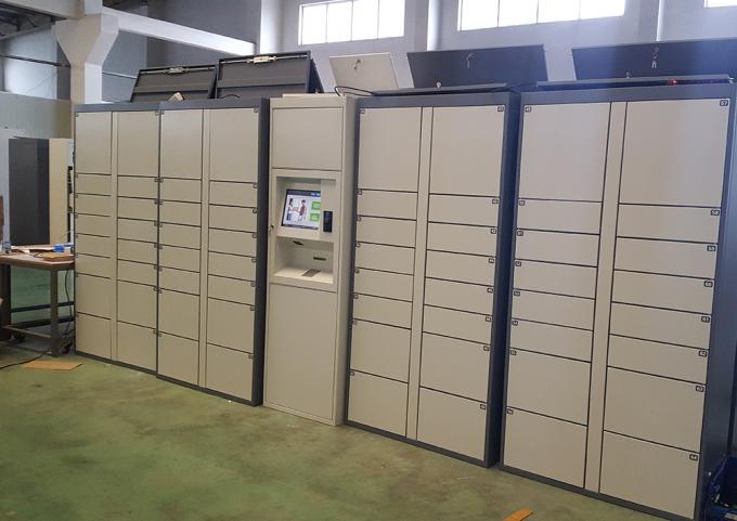 Safe Electronic Rental Locker For Water Park Station
