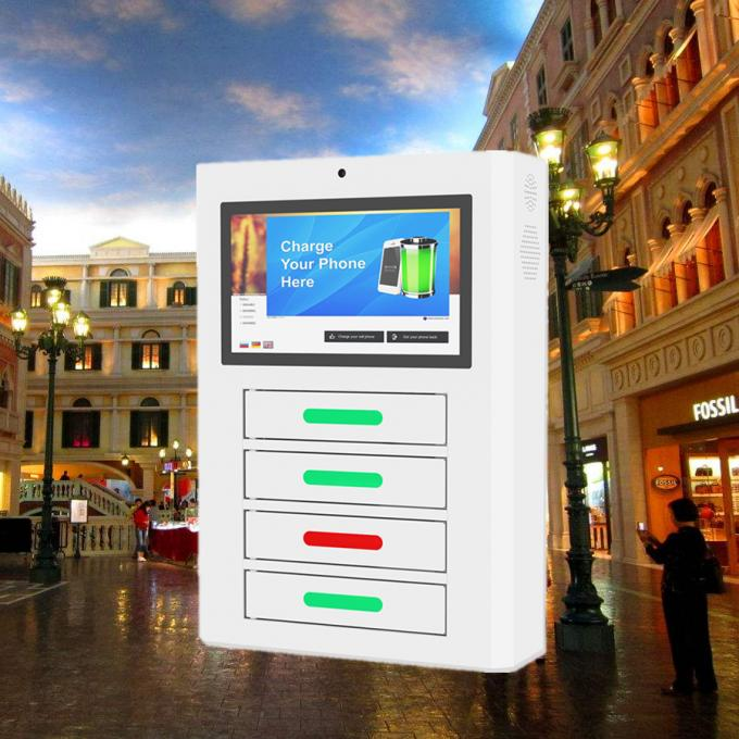 Public Universal Remote Manage Network Phone Charging Kiosk Payment Solution Optional