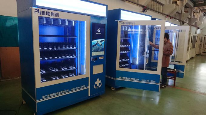 Can Package Food Vending Machine With TouchScreen And Security Camera