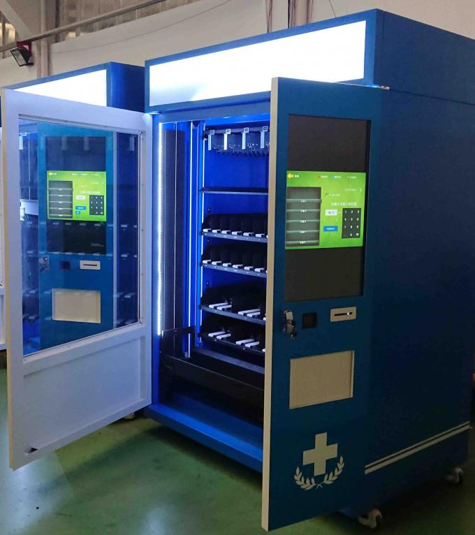 Produced Indoor Use Smart Vending Machine With Different Payment Devices