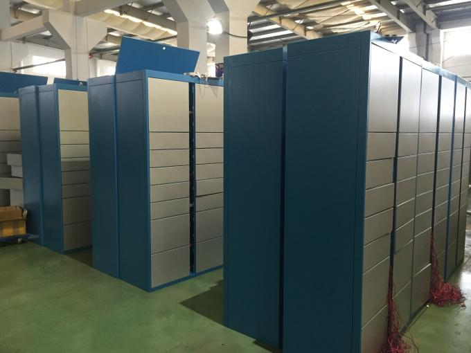 Barcode RFID Luggage Storage Lockers Public Locker For Factory Changing Room With Electronic Lock