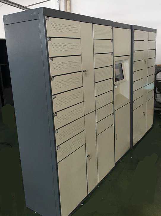 Outdoor Electronic Parcel Delivery Lockers Digital Parcel