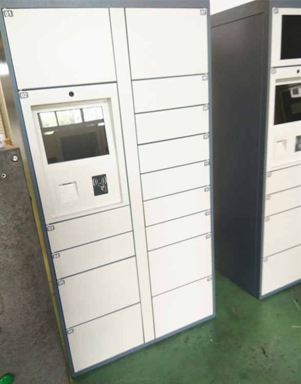 24 Hours Electric Cabinet Automated Locker System For Campus School University