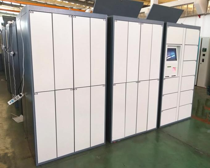 Customized Size Electronic Barcode Laundry Locker For Dry Cleaning Shop