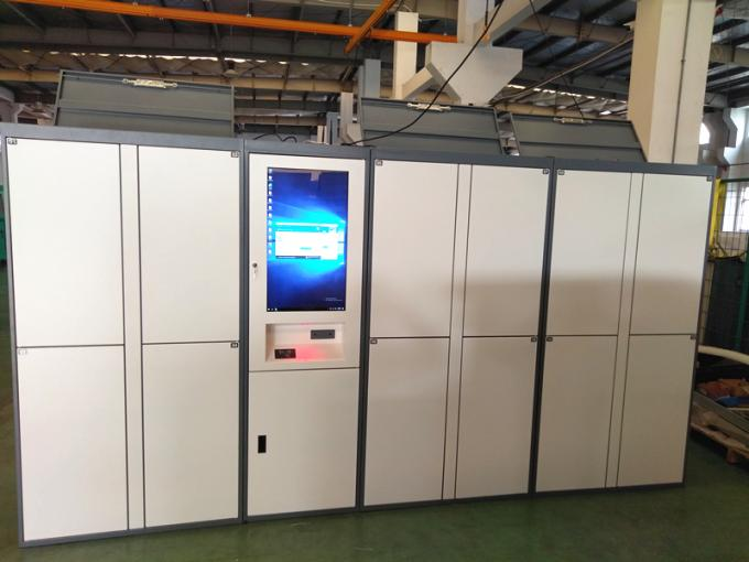 Smart Click & Collect Luggage Lockers Self Pickup Locker with CE FCC Certificate