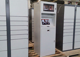"CE FCC Electronic Post / Mail Lockers with Advertising Videos 19"" LCD Display"